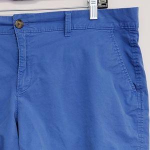 Old Navy Shorts - old navy | blue chino cotton stretch shorts sz 16
